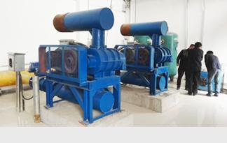 阳泉煤业集团合作项目三叶罗茨鼓风机使用现 ...