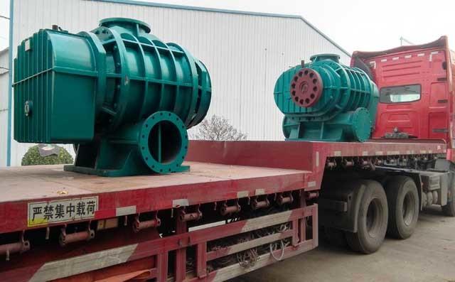 中国国电集团合作项目高压罗茨鼓风机发货中